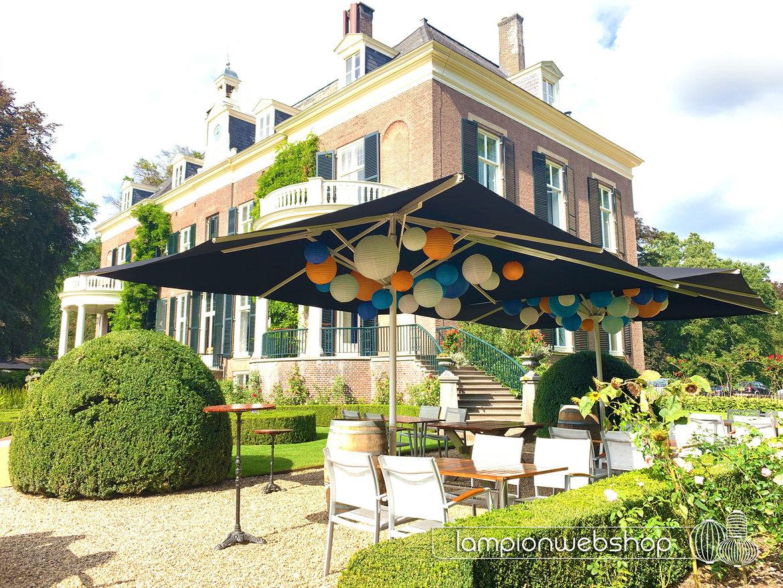 Lampionnen-Rhederoord-|-Parasoldecoratie