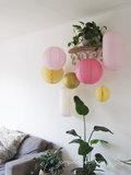 Dekorationspaket - Pastell Ostern - 7-teilig_