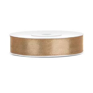 Satinband Gold 12 mm / 25 m