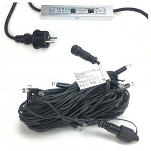 Starter-Set - LED Lichterkette mit 20 warmweißen Lampen