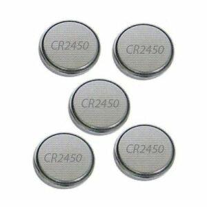 CR2450 Batterien 5er-Pack